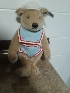 STEIFF VINTAGE SAILOR BABY BEAR ONLY From GOLDILOCKS & THREE BEARS 0173/25