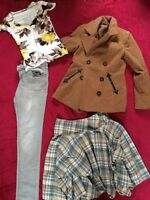 Size 12 Ladies Bundle With Coat Mixed Items