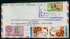 Mayfairstamps NICARAGUA COMMERCIAL 1976 COVER BELEN TO LOS ANGELES CA USA wwh 96