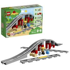 Lego Duplo 10872. Puente y vías ferroviarias. 26 piezas. De 2 a 5 años