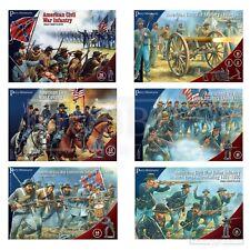 Perry Miniatures American Civil War Figures 28mm ACW Union Confederate Plastic