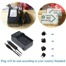 2 Battery + Mains &car Charger for Sony Cyber-shot DSC-HX80 Camera