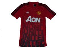 Adidas Manchester United Pre-Match Trikot Gr.XS  Adizero  Fußball  Jersey
