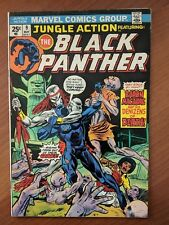 JUNGLE ACTION #9 VF/VF+ 1974 BLACK PANTHER NEW MOVIE!