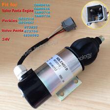 Fuel Shut Off Stop Solenoid for Volvo Penta TAMD61A TAMD62A TAMD71A TAMD72A 24V
