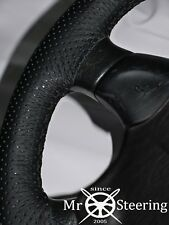 FOR HYUNDAI iX35 2010-2015 PERFORATED LEATHER STEERING WHEEL COVER DOUBLE STITCH