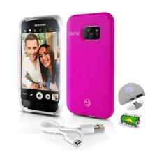 Lite-Me Selfie Lighted Smart Case, Built-in Power Bank & LED Lights (SL302S7PN)