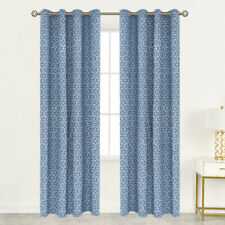 Linen Textured Living Room Curtains for Windows Curtain Drapes Set of 2 Panels