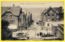 cpa ONIVAL Somme Avenue du CASINO prise de la CHAPELLE Villa Maria Thérèse 1912