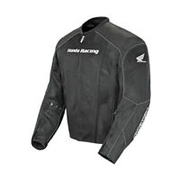 Joe Rocket Honda Racing CBR Mesh Jacket Black/Black Mens SM-3XL