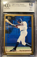1999 Topps Traded Alfonso Soriano #T65 ROOKIE Card Graded BCCG MINT 10