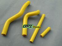 silicone radiator hose For Suzuki RM125 RM 125 2001-2008 02 03 04 05 06 yellow