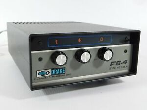 Drake FS-4 Synthesizer for SPR-4 R-4 Receivers (very nice condition)