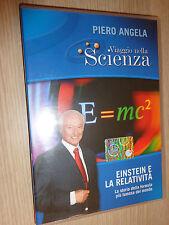 DVD N° 3 VIAGGIO NELLA SCIENZA PIERO ANGELA EINSTEIN E LA RELATIVITA' FORMULA