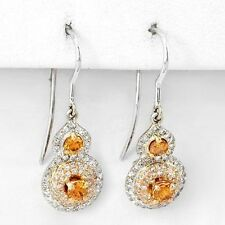 0.83CT Earrings CERTIFIED by EGL Super Clean Diamonds $5,000 No Reserve! WOW!