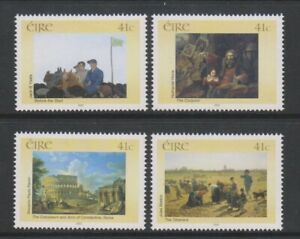 Ireland - 2002, National Gallery of Ireland set - MNH - SG 1546/9