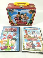 Cloudy With a Chance of Meatballs 1 & 2 DVD Lunchbox Gift Set w/ Holiday Special