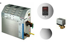 Mr Steam MS-90-EC1 Steam Bath Generator Package in Brushed Nickel