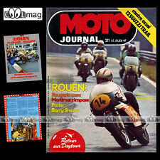 MOTO JOURNAL N°211 TRIAL BRISTOL DAVE THORPE GUZZI 125 TT ROUGERIE DAYTONA 1975