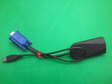 FUJITSU SERVER USB UNIT FP=MMSM/USB VGA RJ45 CAT5 PORT NETWORK KVM SWITCH CABLE