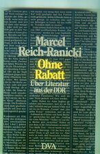 Ohne Rabatt Über Literatur aus der DDR Marcel  Reich Ranicki + Literatur i. DDR
