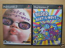 Lot De 2 PLAYSTATION 2 Arcade Jeux : Super Bust-A-Move 1 & 2