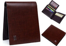 Men Wallet Cow Bifold Leather Bank Credit Card Septwolves Purse brown 1732023-02
