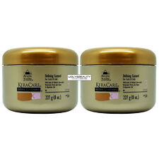 """KeraCare Defining Custard 227 g (8 Oz.) """"Pack of 2"""" with Free Nail File"""