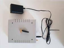 Portech MV-370 VOIP GSM Gateway mit Antenne und Netzteil