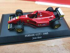 Ferrari F1 412T Jean Alesi 1995 - Scala 1:43 - DeAgostini F1 Collection