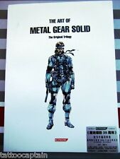 The Art of Metal Gear Solid Original Trilogy Sketch Tattoo Reference book