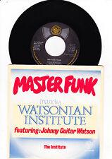 "7"" Watsonian Institute - Master Funk  -------"
