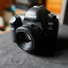 Canon EOS 5D Mark IV 30.4MP Digital SLR Camera - Black (Body + 50MM Lens)