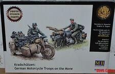 MASTER Box 3548F 1:35th SCALA kradschutzen tedesco Motocicletta LE TRUPPE IN MOVIMENTO