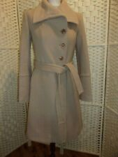 Zara size S (aprox 8) camel wool and angora blend coat.