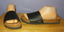 Betula Licensed Birkenstock Black Single Band Soft Footbed Sandals! 39 Euro 8 US