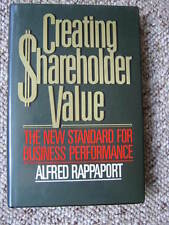Alfred Rappaport - Creating Shareholder Value - 1986 - New