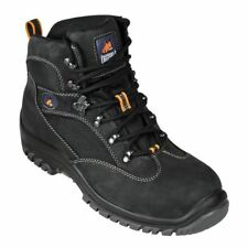 NEW Mongrel 360020 Black Sports Lace Up Steel Toe Boots Sz 9 RRP$148.00