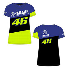 OFFICIAL LADIES GENUINE VR46 VALENTINO ROSSI YAMAHA FACTORY RACING T SHIRT