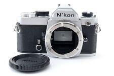 Nikon FM Silver Manual SLR 35mm Film Camera Body from Japan 545837