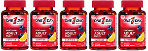 One A Day Vitacraves Regular Gummies, 70 Count (5 Pack)