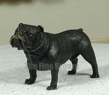 Cute little Bronze Sculpture Male pug Bulldog BRONZE statue