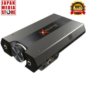 CREATIVE Sound BlasterX G6 Gaming DAC External USB Sound for PS4 Nintendo PC