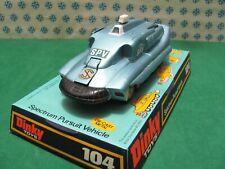 Vintage - Spectrum Pursuit Vehicle Captain Scarlets - Dinky toys 104 Nmib