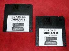 2 sonidos de órgano Hammond b3 Tubo de disquete bx3 para Kurzweil k2661 k2000r k2500 k2600r