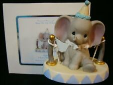 New ListingPrecious Moments-Baby Elephant On Tightrope-I Love You Tons-Dumbo