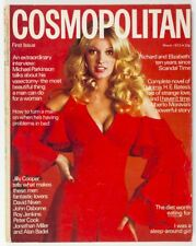 1st COSMOPOLITAN magazine March 1972 JULIE CROSTHWAITE vtg ELIZABETH TAYLOR UK 1