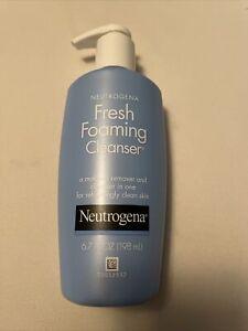 Neutrogena Fresh Foaming Facial Cleanser & Makeup Remover