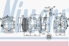 NISSENS 89053 A/C compressor Peugeot Citroen Fiat:C3 I 1,PARTNER,206,C2 BERLINGO
