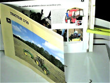 BEAU CATALOGUE TRACTEUR AGRICOLE JOHN DEERE serie 1750 : 1987